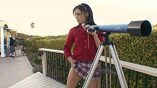Cute schoolgirl Stephanie