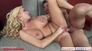Hot blondie with big tits Summer Brielle fuck