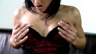 Sandra peels herself out of her lingerie