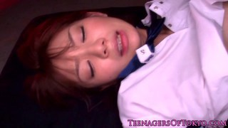 Asian teen doggystyle fucked
