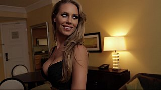 Amazing Nicole Aniston comes directly to my room
