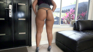 Ava Sanchez has a thick ass that will have your dick leaking