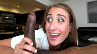 Skyler Luv unleashed his black rod upon her with no remorse