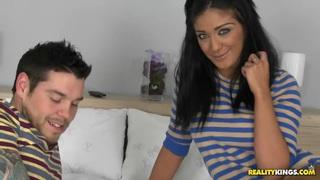 Mai and her boyfriend
