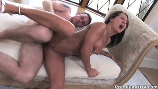 Sandra Romain being fucked so hard, just as she wants to be fucked!