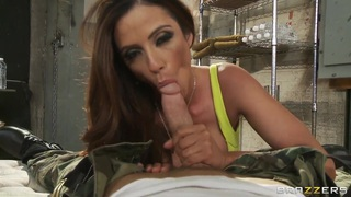 Ariella Ferrera says she'll do anything for a spot in Johnny's bunker