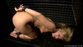 Nasty Katy Borman dominates a pain hungry Linda Ray