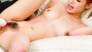 Sympathetic babe Ayaka Fujikita achieves voluptuous delight by sweet vibrations