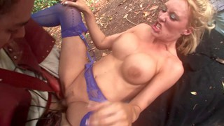 Sex orgy in the secret garden
