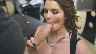 Tasha Holz sucks Danny D's monster shaft and throws it between her bazookas