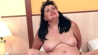 Young man fucking fat granny