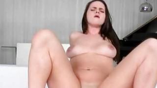 Scarlett Skye rides on giant cock