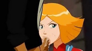 Totally Spies Porn  Totally slut Clover