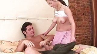 Chick spreads legs for pleasure