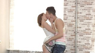 Unique teenagers movie with asshole hard destroyed
