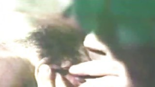 charmingly hot retro blowjob