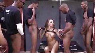 Juelz Ventura Gets A Bunch Of Cocks To Please