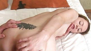 Babe gives juicy oral before hardcore spooning
