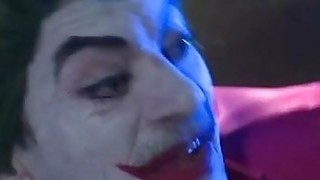 Joker fucks 2 crazy hotties in XXX parody of Batman