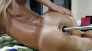 Masturbating With SexToy