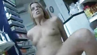 Linda  Euro Milf Fucked Inside The Store
