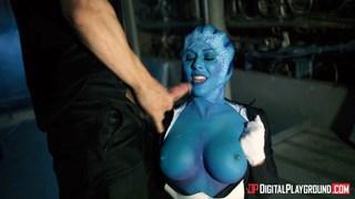 Mass Effect porn parody