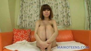 Japanese red head Saki Yanagawa likes sucking cocks