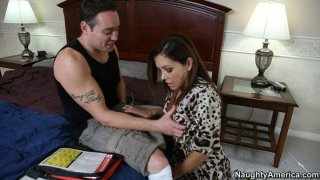 Mobile nurse service from sexy Francesca Le