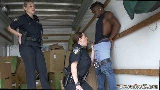 Milf outdoor gangbang and skinny guy fucks Black suspect taken on a